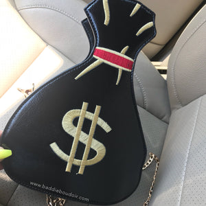 Mariah Money Bag - Black