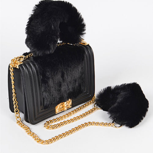 The Bag Fur Me - Black