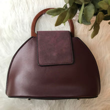 Krissi - Mini Satchel (Burgundy)