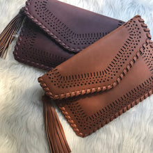 Fentie - Brown Envelope Clutch
