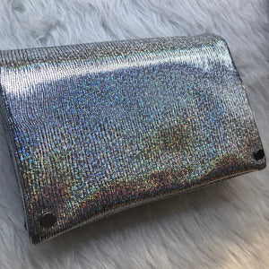 Toni - Silver Metallic Crossbody
