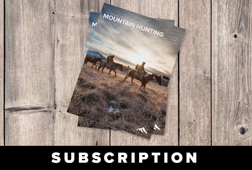 Journal of Mountain Hunting Subscription