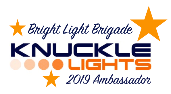 How to be a Knuckle Lights Ambassador (aka BRIGHT LIGHT BRIGADE)