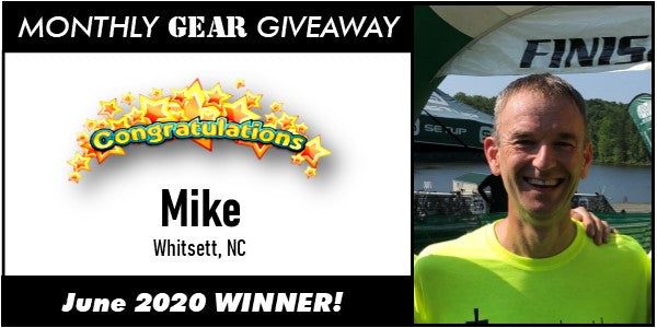June gear giveaway winner