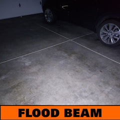 flood beam flashlight example
