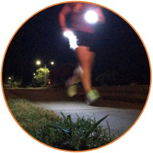 light for running