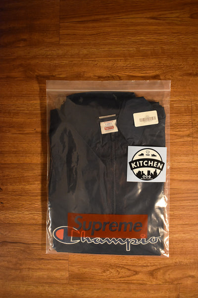 Supreme X Champion Half Zip Pullover - Large
