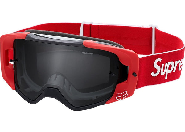 Supreme Fox Racing VUE Goggles Red - Used