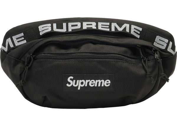 Supreme Waist Bag (SS18) Black - Used