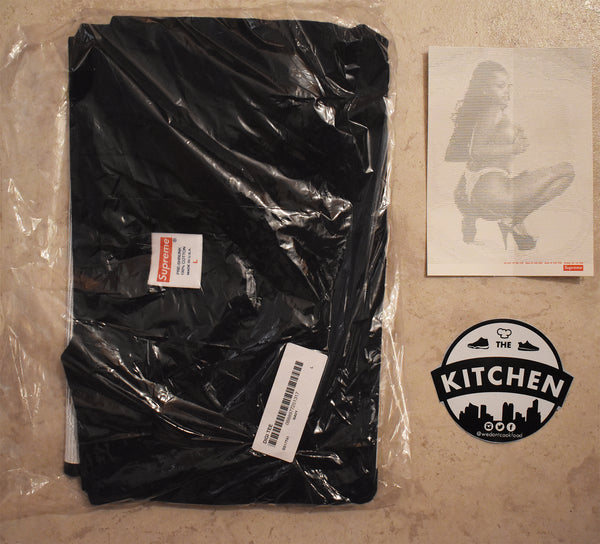 Supreme DIGI Tee - Large - Navy