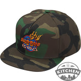 Black Friday - Supreme Fire 5-Panel Woodland Camo Cap