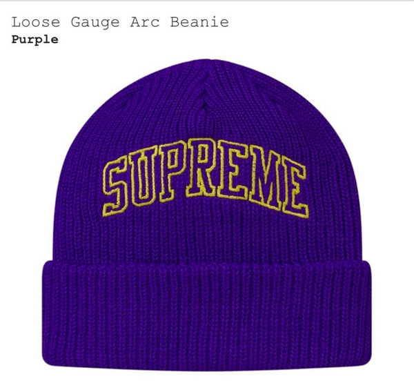 Supreme Loose Gauge Arc Beanie