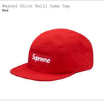 Black Friday - Supreme Washed Chino Twill Camp Cap