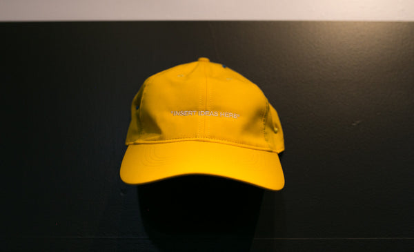 "OFF-WHITE ""INSERT IDEAS HERE"" Hat"