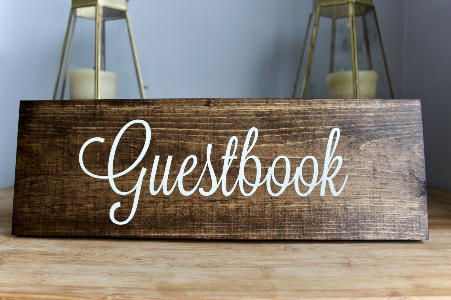 Guestbook Wedding Sign, Bride Groom, Maid of Honor Maid of Honour, Matron of Honor, Matron on Honour Rustic Sign