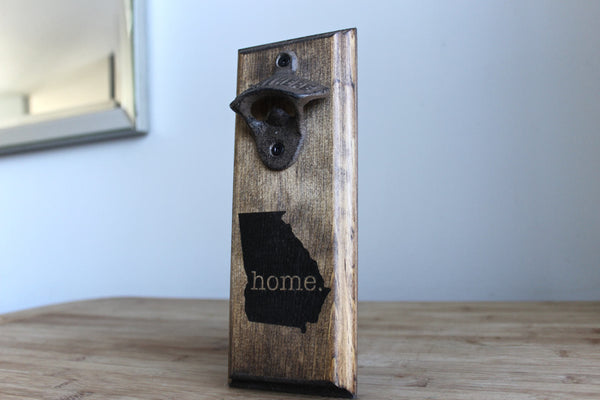 Georgia Home Wall Mounted Bottle Opener (Small)