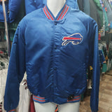 Vintage 80s BUFFALO BILLS NFL Chalk Line Nylon Jacket M