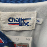 Vintage 80s BUFFALO BILLS NFL Chalk Line Nylon Jacket XL