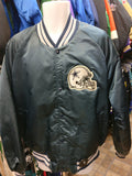 Vintage 80s DALLAS COWBOYS NFL Back Patch Chalk Line Nylon Jacket XL