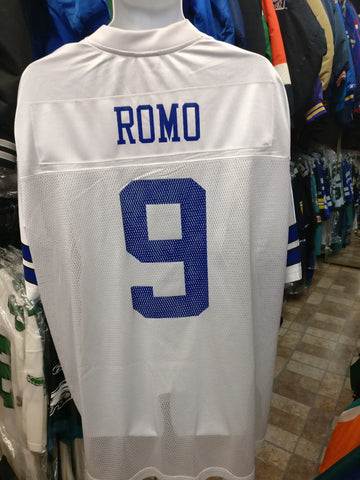 Vintage #9 TONY ROMO Dallas Cowboys NFL Reebok Jersey 2XL