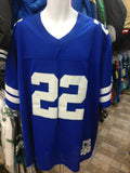 Vintage #22 EMMITT SMITH Dallas Cowboys NFL Mitchell & Ness Jersey 56