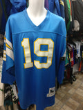 Vtg #19 LANCE ALWORTH San Diego Chargers NFL Mitchell & Ness Jersey 52