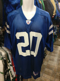 Vtg #20 MIKE DOSS Indianapolis Colts NFL Reebok Jersey XL (Deadstock)