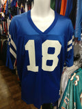 Vintage #18 PEYTON MANNING Indianapolis Colts NFL Champion Jersey 44