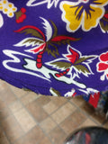 Vintage LOS ANGELES LAKERS NBA Rayon Hawaiian Shirt L