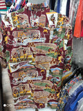 Vtg MINNESOTA GOLDEN GOPHERS NCAA Reyn Spooner Rayon Hawaiian Shirt M