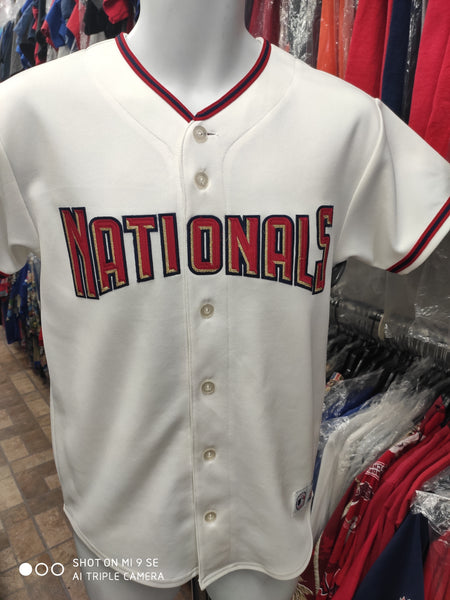 Vintage WASHINGTON NATIONALS MLB Majestic Jersey YL