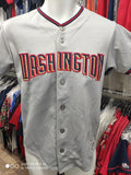 Vintage #47 GIO GONZALEZ Washington Nationals MLB Majestic Jersey YL