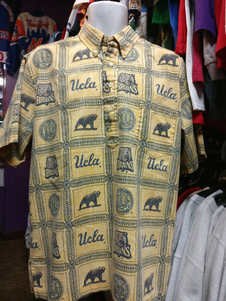403d9ebe74a Vintage UCLA BRUINS NCAA Reyn Spooner Hawaiian Shirt L – XL3 VINTAGE  CLOTHING