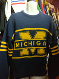 Vintage '84 MICHIGAN WOLVERINES NCAA Cliff Engle Sweater XL - #XL3VintageClothing