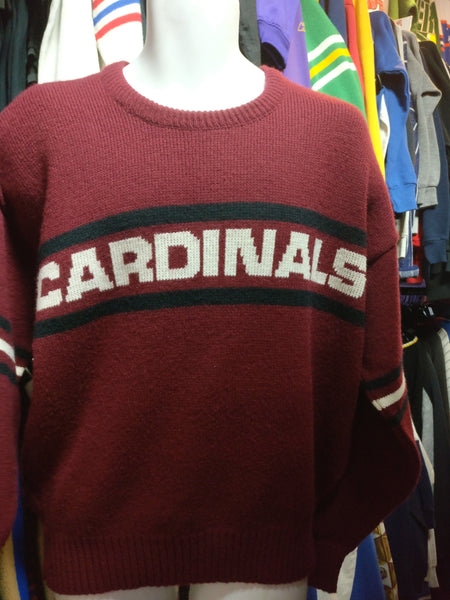 Vintage 90s ARIZONA CARDINALS NFL Cliff Engle Sweater L - #XL3VintageClothing