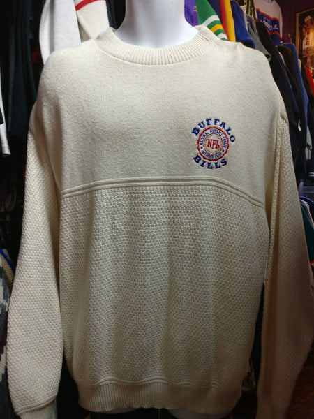 Vintage 90s BUFFALO BILLS NFL Nutmeg Sweater XL - #XL3VintageClothing