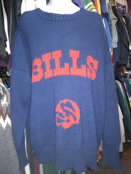 Vintage 90s BUFFALO BILLS NFL Sweater XXL - #XL3VintageClothing