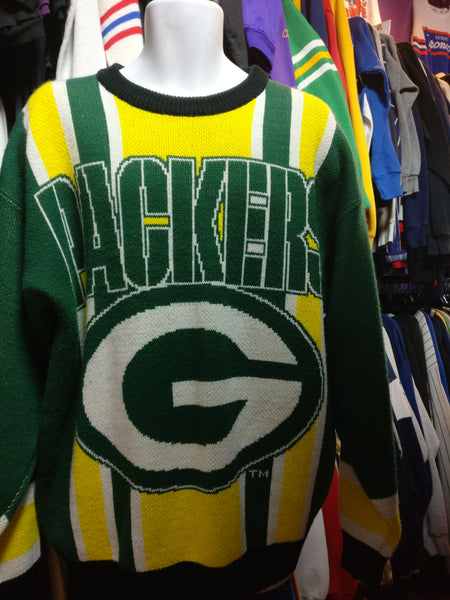 Vintage 90s GREEN BAY PACKERS NFL Riddell Sweater XL - #XL3VintageClothing