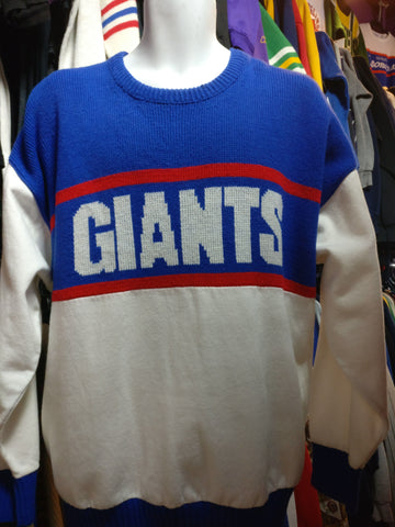 Vintage 90s NEW YORK GIANTS Cliff Engle NFL Sweater XL - #XL3VintageClothing