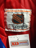 Vintage 80s NEW YORK RANGERS NHL Starter Nylon Jacket S - #XL3VintageClothing