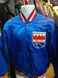 Vintage 80s KANSAS CITY KINGS NBA Starter Nylon Jacket M (Rare) - #XL3VintageClothing