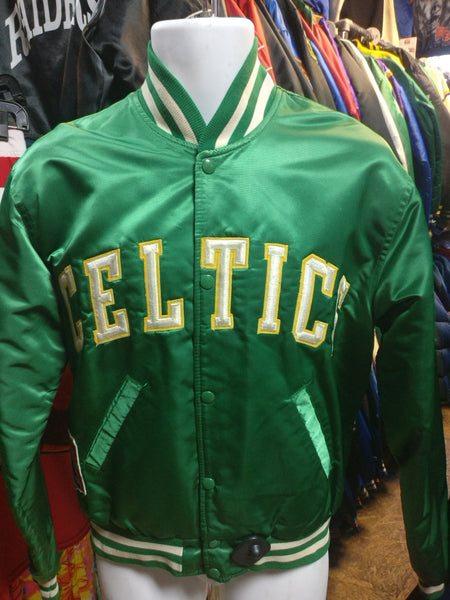 Vintage 80s BOSTON CELTICS NBA Starter Nylon Jacket M - #XL3VintageClothing