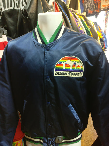 Vintage 80s DENVER NUGGETS NBA Starter Nylon Jacket L - #XL3VintageClothing