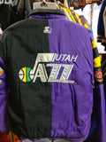 Vintage 90s UTAH JAZZ NBA Starter Back Patch Nylon Jacket S - #XL3VintageClothing