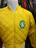 Vintage BOSTON CELTICS NBA Reversible Hardwood Classics Jacket YM - #XL3VintageClothing