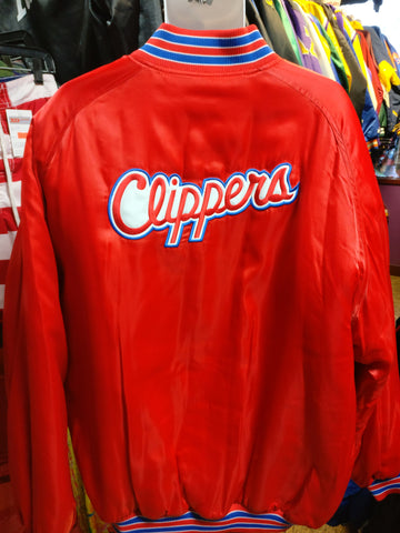 Vintage 90s LOS ANGELES CLIPPERS NBA Back Patch Nike Jacket XXL - #XL3VintageClothing