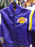 Vintage 80s LOS ANGELES LAKERS NBA Starter Nylon Jacket YS - #XL3VintageClothing