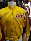 Vintage 80s LOS ANGELES LAKERS NBA Starter Nylon Jacket S - #XL3VintageClothing
