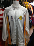 Vintage 2000s LOS ANGELES LAKERS NBA Back Patch Nike Polyester Jacket M - #XL3VintageClothing