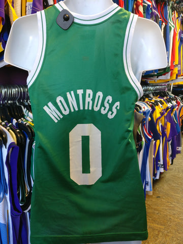 Vintage #0 ERIC MONTROSS Boston Celtics NBA Champion Jersey 36 - #XL3VintageClothing